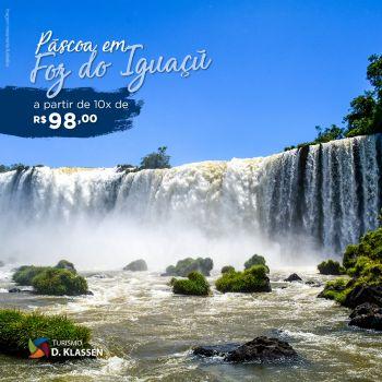 Páscoa em Foz do Iguaçu