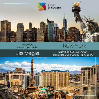 Divirta-se em Las Vegas e Nova York!