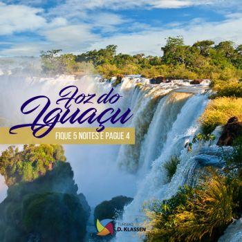 Foz do Iguaçu - 5 noites, pague 4