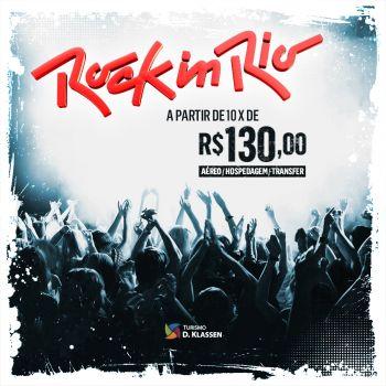 Rock In Rio com a Dklassen!